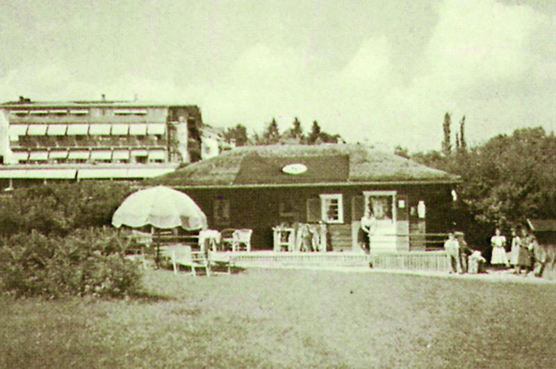 Clubhaus des Golf-Club Feldafing e.V. im Gründungsjahr 1926